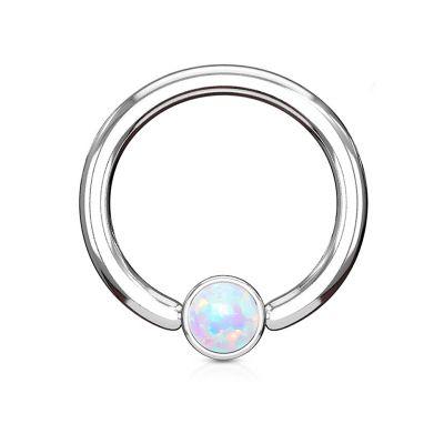 Rõngasneet silindrilise kuuli ja opaaliga